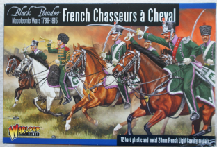 Warlord Games 28mm WGN-FR-12 Napoleonic French Chasseurs a Cheval